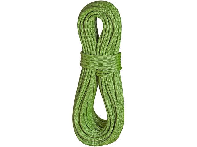 Edelrid Heron Pro Dry Rope 9,8mm 80m, leaf